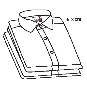 Picto mesures sur chemise